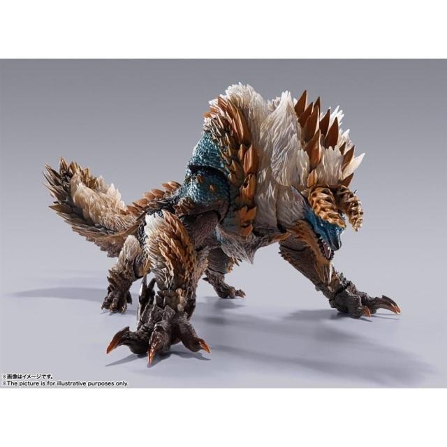 【7月予約】バンダイ S.H.MonsterArts ジンオウガ 「モンスターハンター」より フィギュア 4573102614711