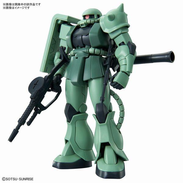 【12月予約】バンダイ HGUC MS-06F ザクII 「機動戦士ガンダム」より ガンプラ 5061545