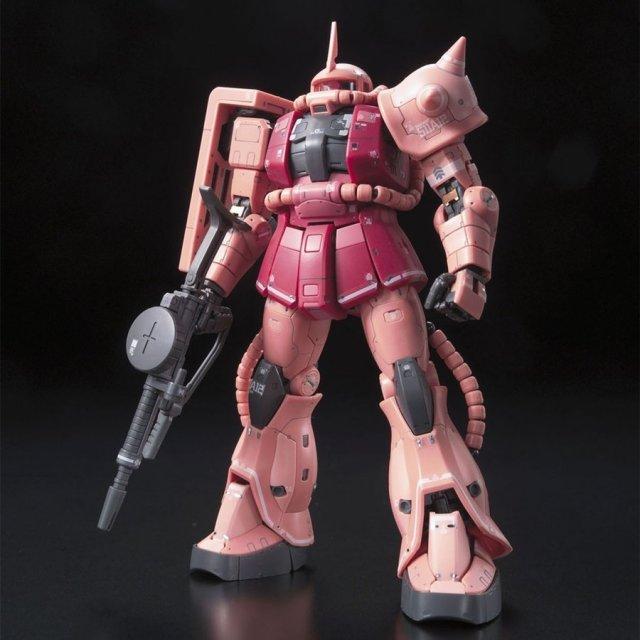 バンダイ RG 1/144 MS-05S シャア専用ザク 「機動戦士ガンダム」より ガンプラ 5061595