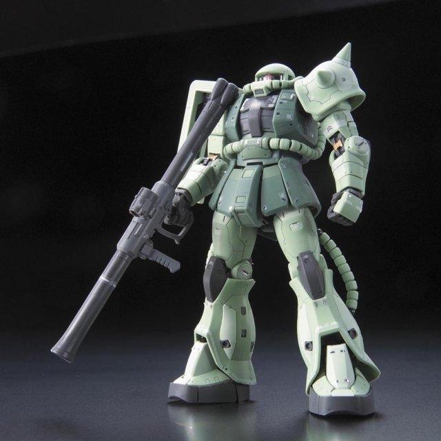 バンダイ RG 1/144 MS-06F 量産型ザク 「機動戦士ガンダム」より ガンプラ 5061596