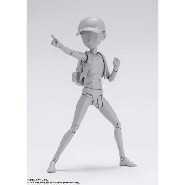【12月予約】バンダイ S.H.Figuarts ボディくん -杉森建- Edition DX SET (グレー Color Ver.) フィギュア 4573102621023