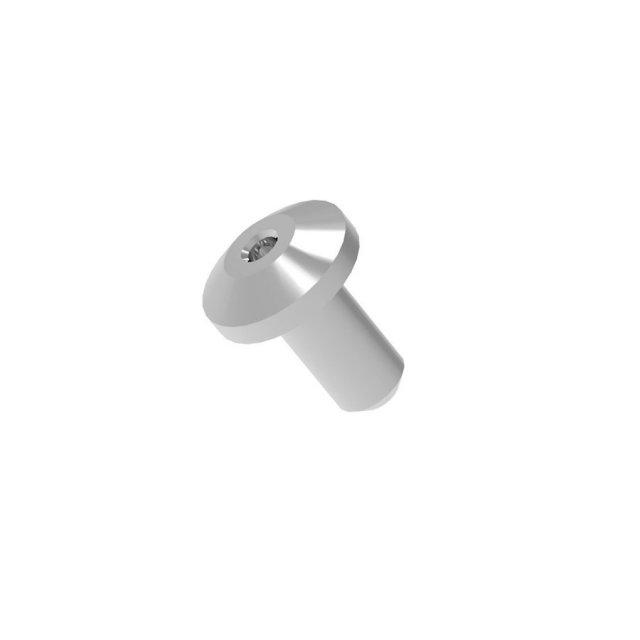 ハイキューパーツ BLリベット 1.00mm シルバー 50個入 模型用グッズ BLR-S-100
