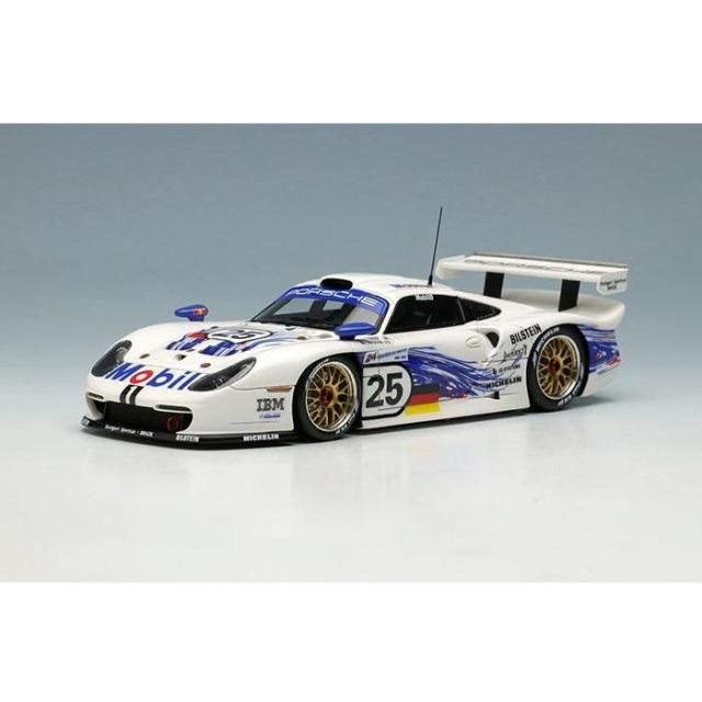 【5月予約】アイドロン 1/43 ポルシェ 911 GT1 EVO No.25 1997 ル・マン24時間 完成品ミニカー EM329A