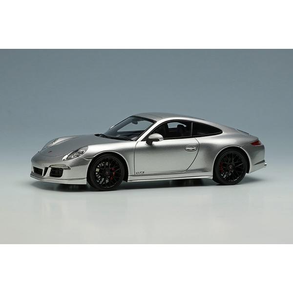 【11月予約】アイドロン 1/43 ポルシェ 911 991 カレラ GTS 2014 シルバー 完成品ミニカー EM629A