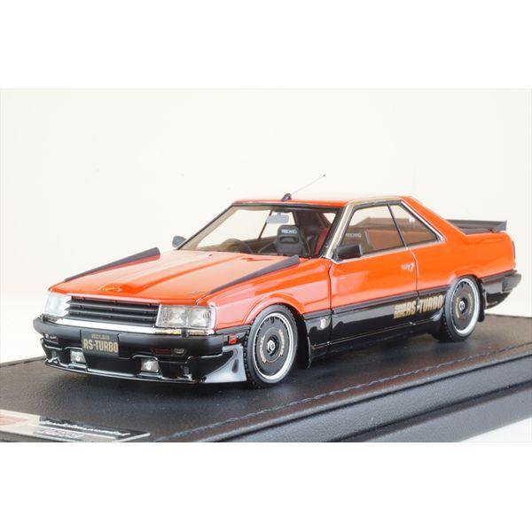 【7月予約】イグニッションモデル 1/43 ニッサン スカイライン 2000 RS-ターボ R30 レッド/ブラック 完成品ミニカー IG2327