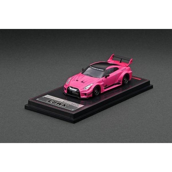 【9月予約】イグニッションモデル 1/64 LB-シルエットワークス GT ニッサン 35GT-RR ピンク 完成品ミニカー IG2382