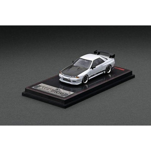 【10月予約】イグニッションモデル 1/64 トップシークレット ニッサン GT-R VR32 マットパールホワイト 完成品ミニカー IG2395
