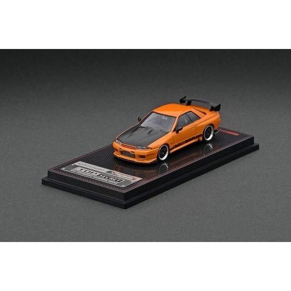 【10月予約】イグニッションモデル 1/64 トップシークレット ニッサン GT-R VR32 イエロー オレンジメタリック 完成品ミニカー IG2397