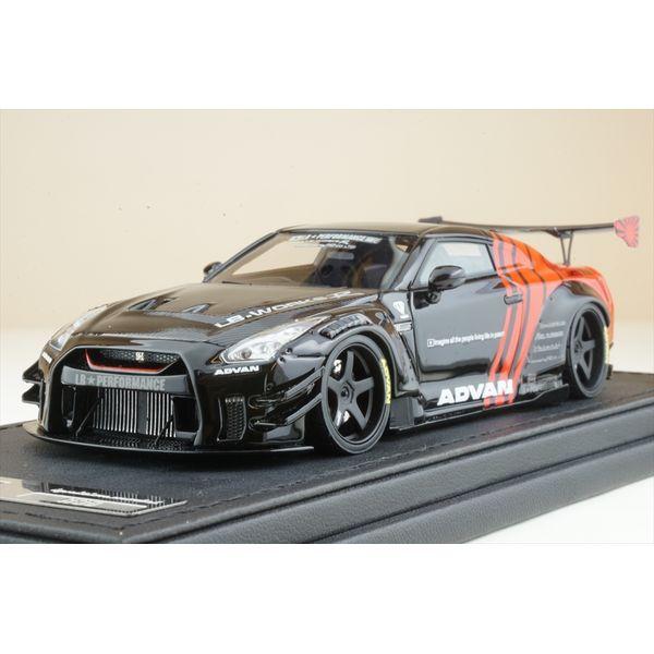 【4月予約】イグニッションモデル 1/43 LB-WORKS ニッサン GT-R R35 type 2 ブラック/レッド 完成品ミニカー IG2556