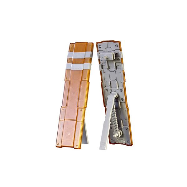【11月予約】PLUM プラアクト・オプション・シリーズ10:双盾(ソウジュン) 2 (クリアオレンジ) 模型用グッズ PP110