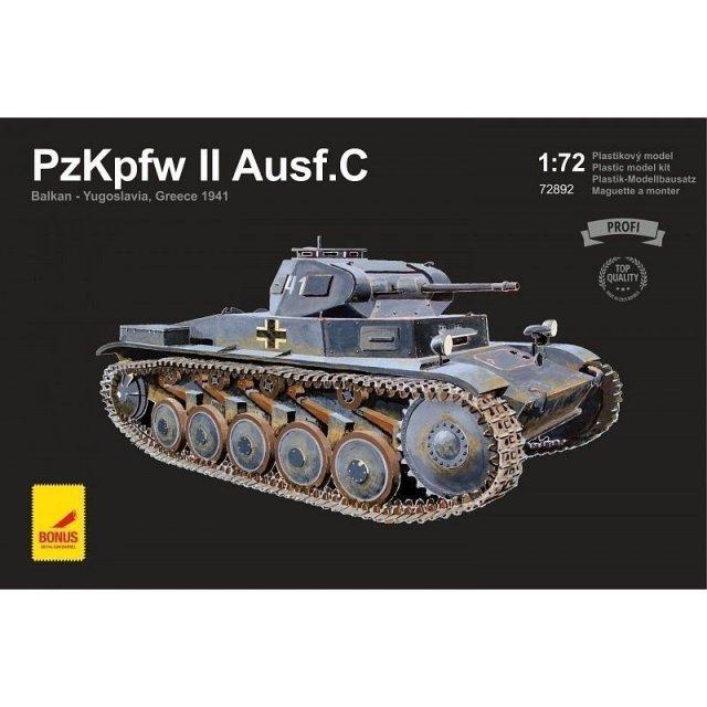 アタックホビーキッツ 1/72 2号戦車C型 '41 バルカン・ユーゴ・ギリシャ スケールモデル AHK72892