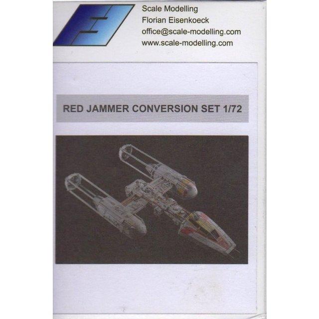 カジカ  1/72 Y型ファイター用「レッドジャマー」 コンバージョンセット 模型用グッズ SCM003