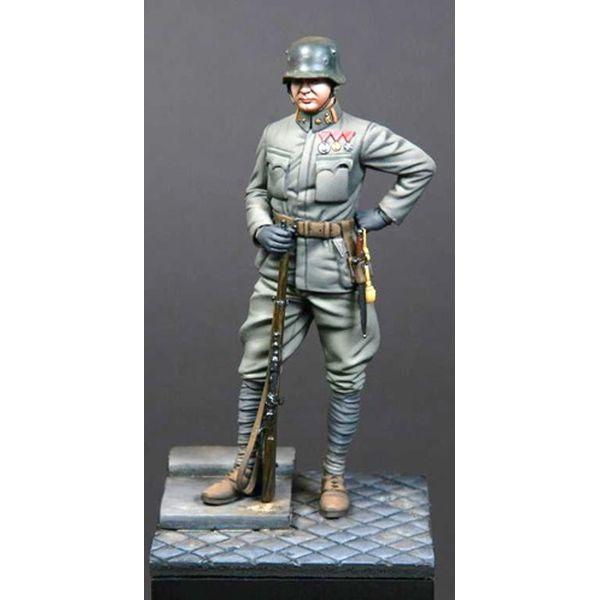 【5月予約】SBSモデル 1/24 75mm WW.1 オーストリア・ ハンガリー帝国 パイオニア軍団 将校 スケールモデル SBMV75008