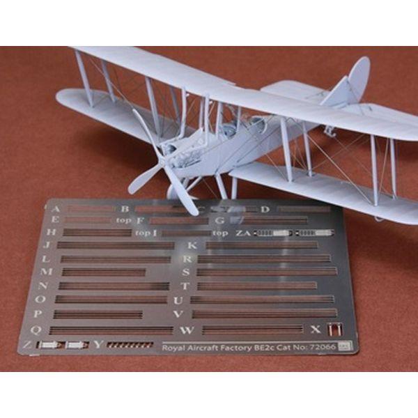 【5月予約】SBSモデル 1/72 RAF BE2c スカウト 張り線セット (エアフィックス用) 模型用グッズ SBM72066