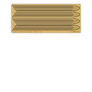 【2月予約】グリーンストロベリー 1/537 ミランダ級宇宙艦 ワープナセル 外側グリル (AM社用) 模型用グッズ HAUGS11620-537