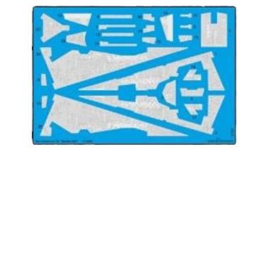 【2月予約】グリーンストロベリー 1/14500 インペリアル級 銀河帝国 宇宙戦艦用 デカール (B社001用) 模型用グッズ HAUGS1005