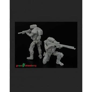 【2月予約】グリーンストロベリー 1/35 R.U-R 狙撃ロボット & 斥候ロボット セット 模型用グッズ HAUGS135016