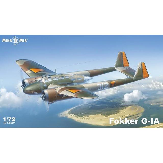【3月予約】ミクロミル 1/72 フォッカー G-IA 双発戦闘機 スケールモデル MKR72-017