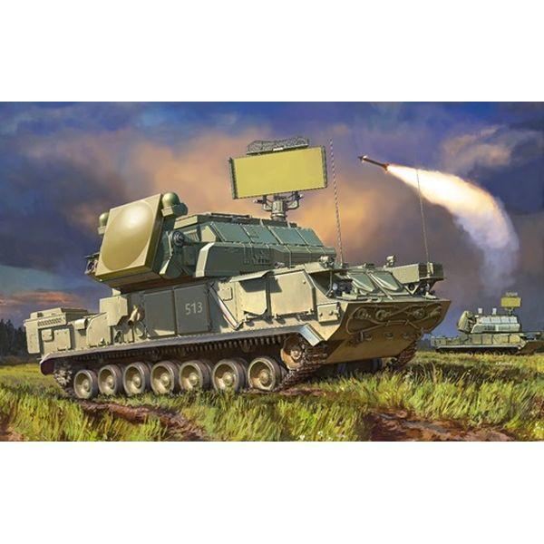 """【8月予約】ズベズダ 1/35 ロシア地対空ミサイル トール 2M """"SA-15 ガントレット"""" スケールモデル ZV3633"""