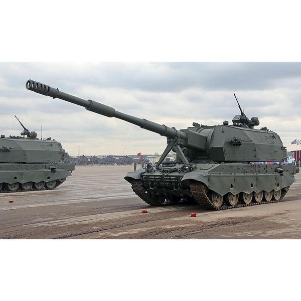 【7月予約】ズベズダ 1/72 2S35 コアリツィヤ-SV 152mm自走榴弾砲 スケールモデル ZV5055