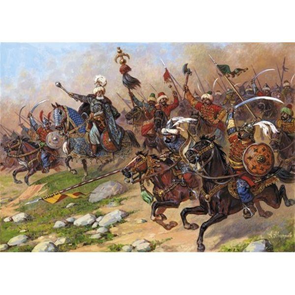 【8月予約】ズベズダ 1/72 トルコ騎兵セット(16-17世紀) スケールモデル ZV8054