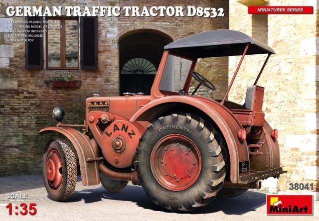 ミニアート 1/35 ドイツ製トラフィック トラクター D8532 スケールモデル MA38041