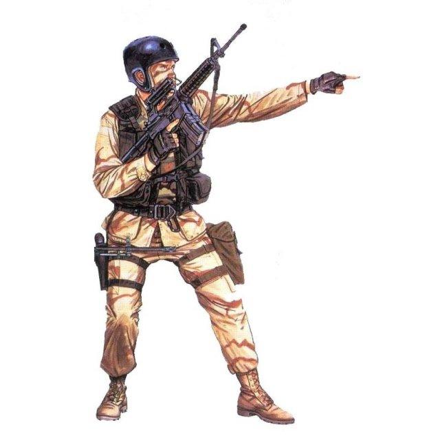 ICM 1/16 デルタ フォース 隊員(モガディシュ 1993) スケールプラモデル 16103