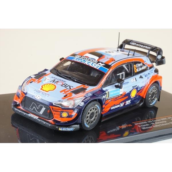イクソ 1/43 ヒュンダイ i20 クーペ WRC No.8 2020 エストニアラリー ウィナー O.タナク/M.ヤルヴェオヤ 完成品ミニカー RAM758