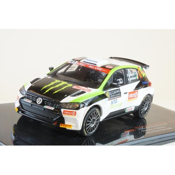 イクソ 1/43 フォルクスワーゲン ポロ GTI R5 No.41 2020 WRC ラリー・モンテカルロ O.ソルベルグ/A.ジョンストン 完成品ミニカー RAM751