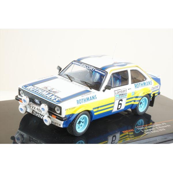イクソ 1/43 フォード エスコート MKII No.6 1979 WRC RACラリー バタネン/リチャーズ 完成品ミニカー RAC332