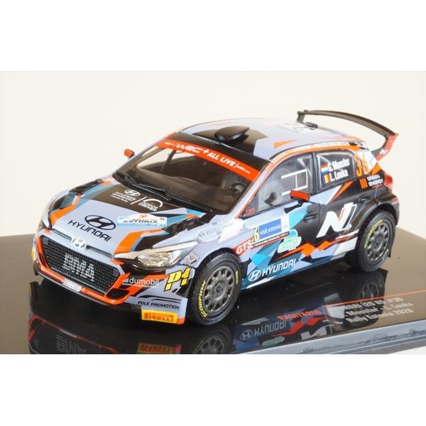 イクソ 1/43 ヒュンダイ i20 R5 No.36 2020 WRC ラリー・エストニア G.ミュンスター/L.Louka 完成品ミニカー RAM762LQ