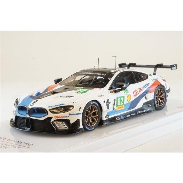 トゥルースケール 1/43 BMW M8 No.82 BMW チーム MTEK 2018 LMGTE WEC富士6時間耐久レース 2位 完成品ミニカー TSM430437