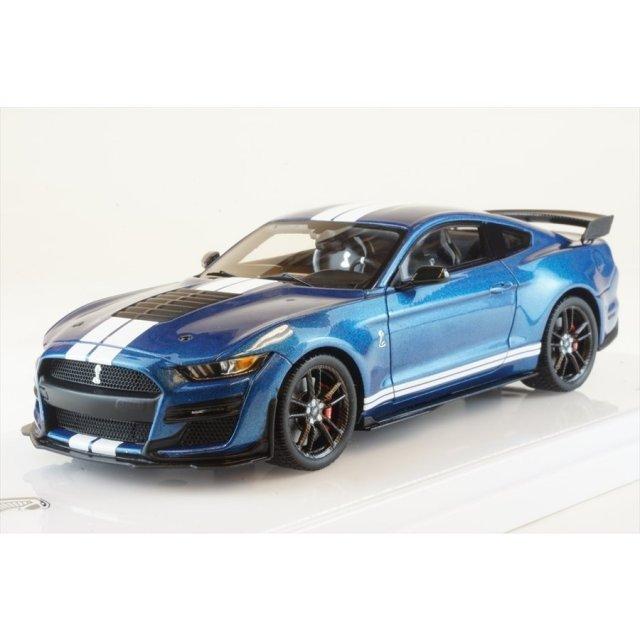 トゥルースケール 1/43 フォード マスタング シェルビー GT500 フォード パフォーマンス ブルー 完成品ミニカー TSM430477