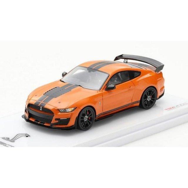 トゥルースケール 1/43 フォード マスタング シェルビー GT500 ツイスターオレンジ 完成品ミニカー TSM430479