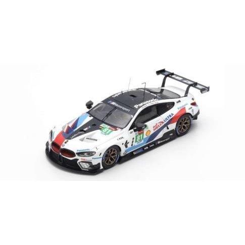 トゥルースケール/スパーク 1/43 BMW M8 GTE No.81 チームMTEK 2018 ル・マン24時間 M.トムチェク/N.カツバーグ/P.Eng 完成品ミニカー TSM430487