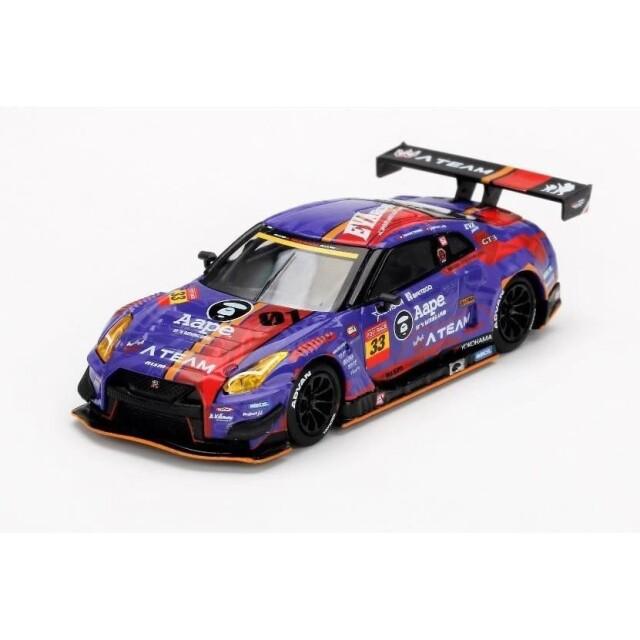 【7月予約】MINI-GT x POP RACE 1/64 ニッサン GT-R Nismo GT3 エヴァ RT TEST TYPE-01 覚醒版 2019 Nismoフェスティバル 香港限定 完成品ミニカー MGT00173-L