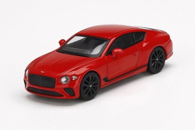 【4月予約】MINI GT 1/64 ベントレー コンチネンタル GT セントジェームスレッド 左ハンドル 完成品ミニカー MGT00216-L