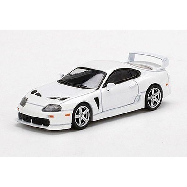 【10月予約】MINI GT 1/64 トヨタ TRD 3000GT スーパーホワイト 右ハンドル 完成品ミニカー MGT00259-R