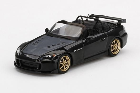【1月予約】MINI GT 1/64 ホンダ S2000 AP2 無限 ベルリナブラック 右ハンドル 完成品ミニカー MGT00309-R