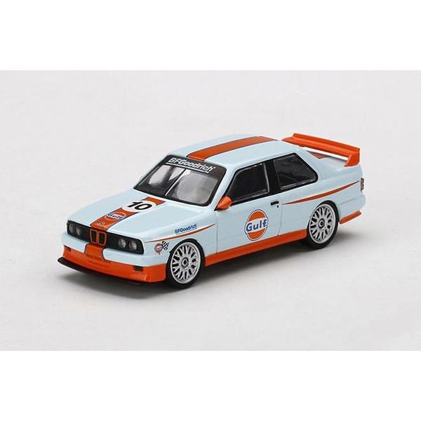 【2月予約】MINI GT 1/64 BMW M3 E30 ガルフ 左ハンドル 北米限定 完成品ミニカー MGT00314-MJ