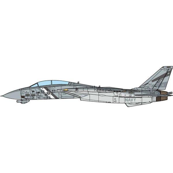 【11月予約】JCW 1/72 F-14D アメリカ海軍 第2戦闘飛行隊 バウンティハンターズ 2002 No.104 完成品モデル JCW-72-F14-008
