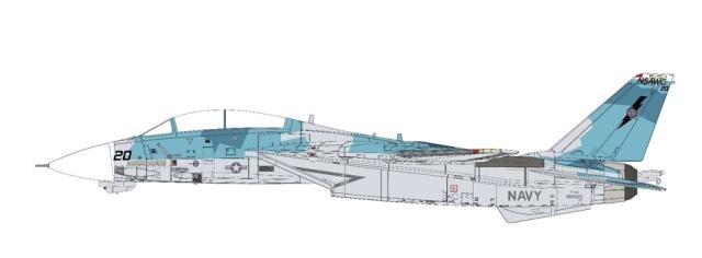 【2月予約】Calibre Wings 1/72 F-14A NFWS/NSAWC トップガン 'Sprinter' No.161869 完成品モデル CA72TP06