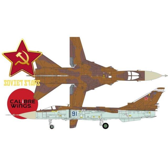 Calibre Wings 1/72 SU-24MK フェンサー ロシア空軍 ブルー 91 完成品 艦船・飛行機 CA722406