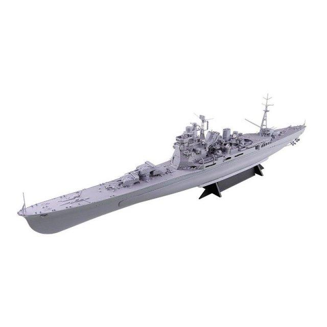 アオシマ 1/350 重巡洋艦愛宕リテイク スケールプラモデル アイアンクラッド