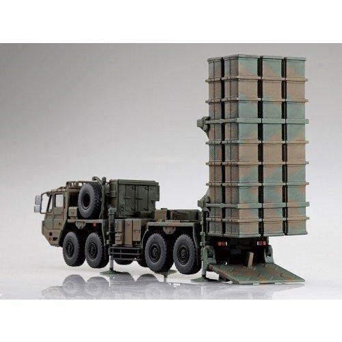 アオシマ 1/72 陸上自衛隊 03式中距離地対空誘導弾 スケールモデル ミリタリーモデルキット No.20