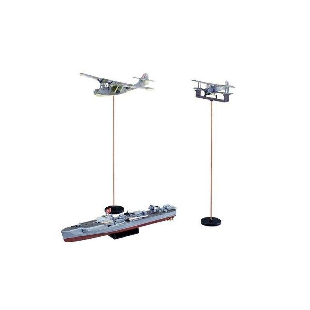 アオシマ 1/350 アイアンクラッド(鋼鉄艦) Sボート SP スケールプラモデル 4905083056585