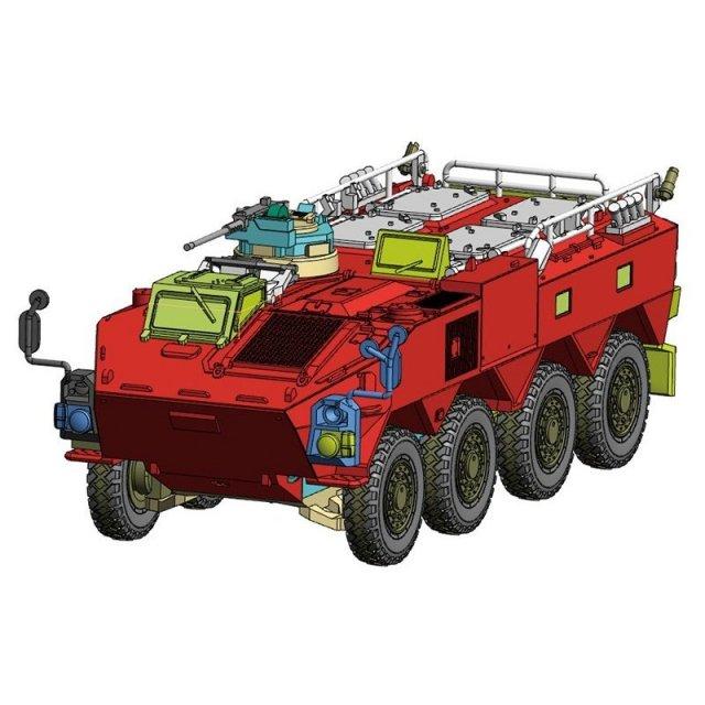 アオシマ 1/72 陸上自衛隊 96式装輪装甲車B型「即応機動連隊」 スケールモデル ミリタリーモデルキット No.SP