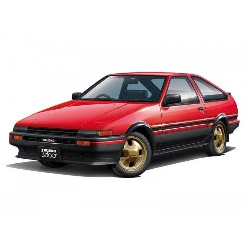 アオシマ 1/24 ザ・モデルカー No.86 トヨタ AE86 スプリンタートレノGT-APEX '84 スケールモデル 4905083059692