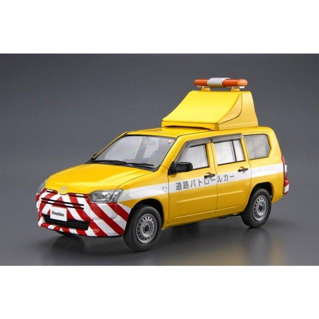 アオシマ 1/24 ザ・モデルカー SP トヨタ NCP160V プロボックス '14 道路パトロールカー スケールモデル 4905083059975