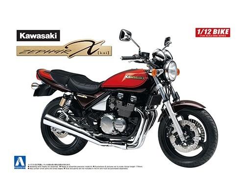 アオシマ 1/12 バイク No.29 カワサキ ZEPHYRχファイナルエディション スケールモデル 4905083061763